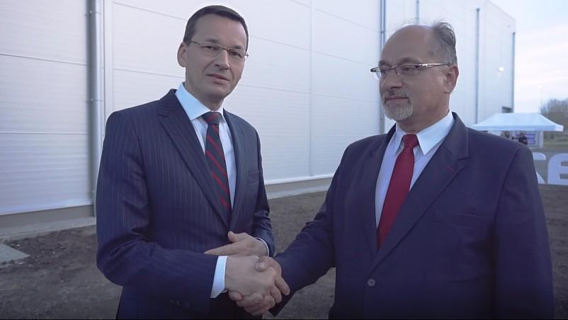 Poparcie Premiera M. Morawieckiego